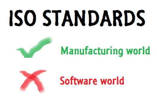 ISO fails in software world